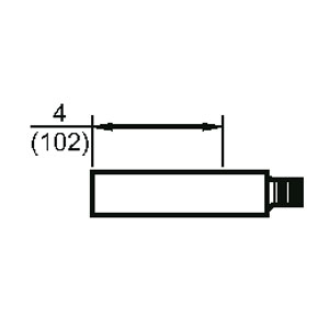 Rixson 900 50 To 900 700 Extension Spacer Epivots
